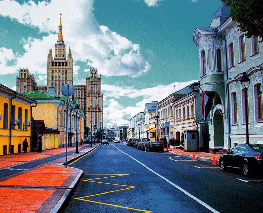 улицы москвы с фотографиями фронтальных тыловых